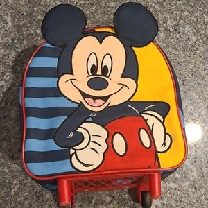 Mickey Mouse mini rolling backpack